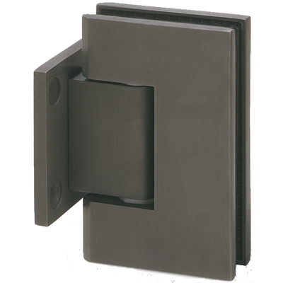 Wall mount with short back plate adjustable hinge